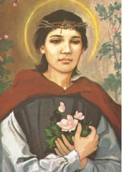 patron saint of roses