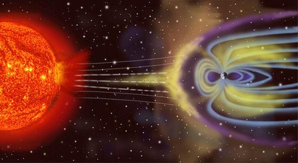 la planète en 2050 Magnetosphere