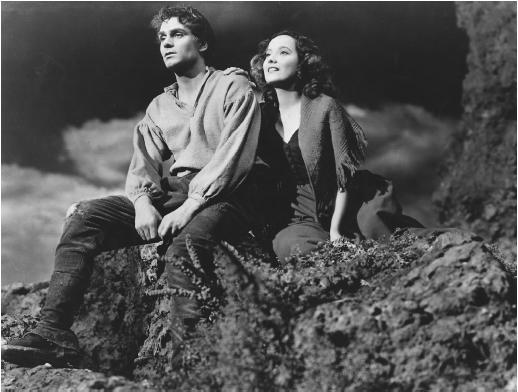 Image from 'Wuthering Heights', 1939