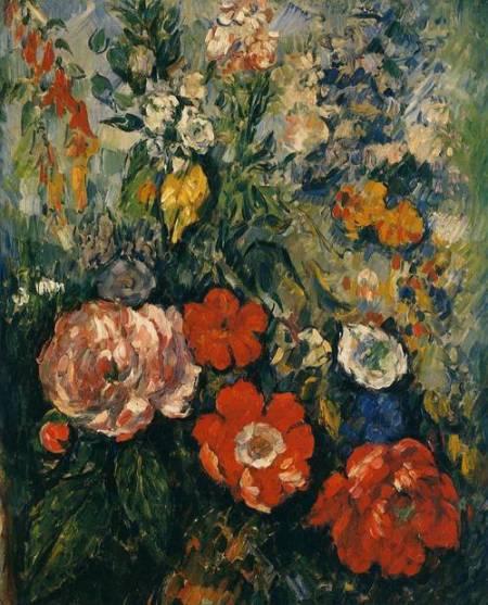 Paul-Cezanne Bouquet-of-Flowers 1879-1880