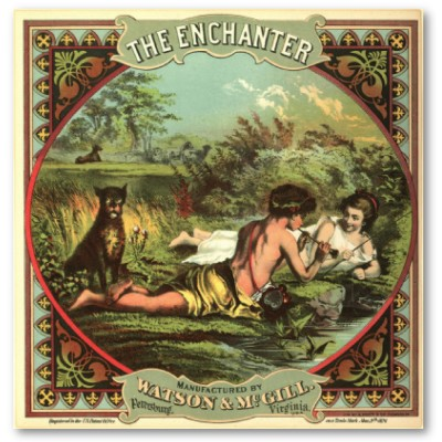 vintage_cigar_ad_the_enchanter_poster
